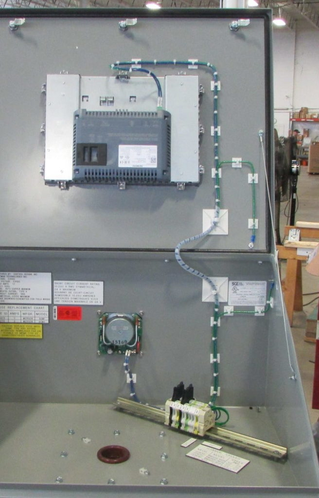 It's just a picture of Wild Industrial Control Panel Label